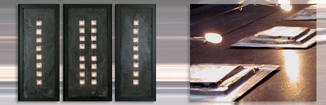 Tableaux lumineux lampes luminaires design appliques maxime chanet design - Tableau lumineux design ...