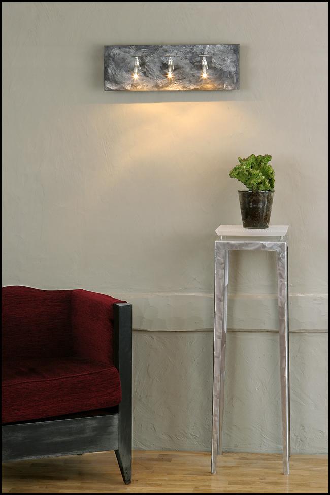 applique scenedo b ton lampe lampe design luminaire maxime chanet design. Black Bedroom Furniture Sets. Home Design Ideas